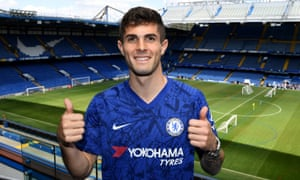 Christian Pulisic says he is coming to Chelsea to be his own man.