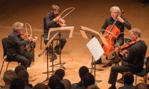 The Arditti Quartet explored the extraordinary soundworld of Benedict Mason's Second Quartet.