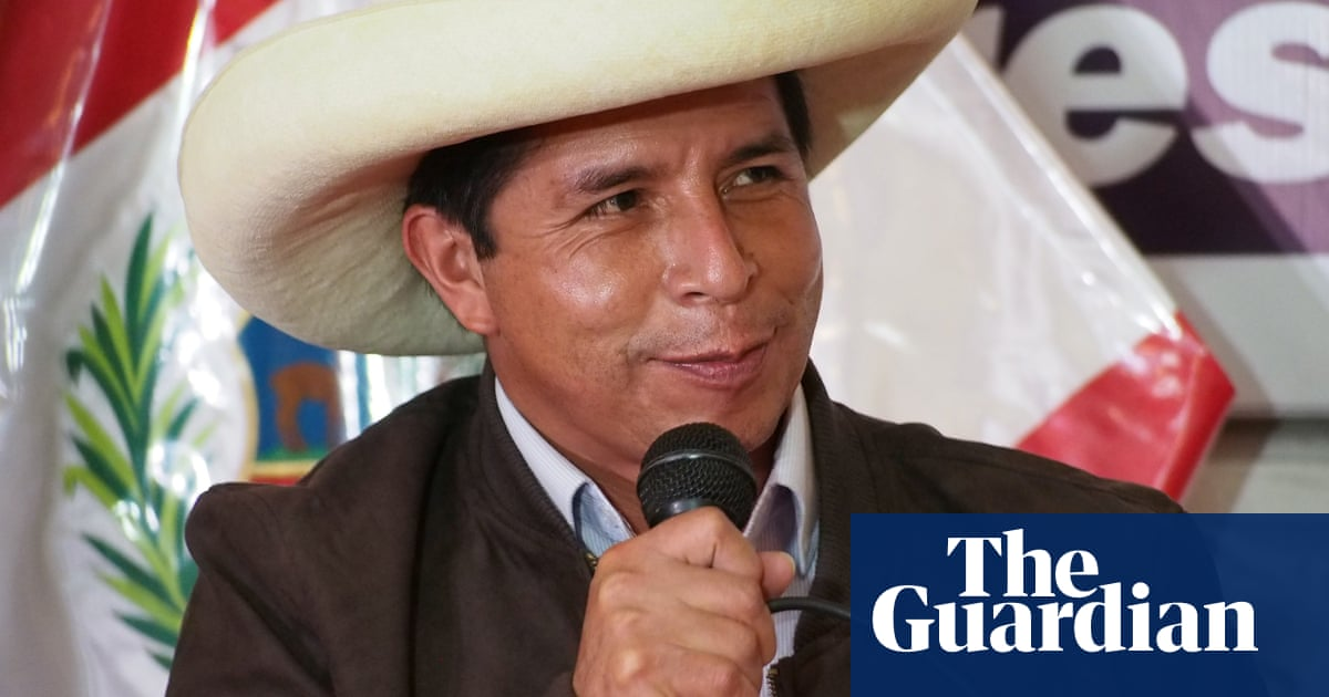 Peru election: socialist Pedro Castillo claims victory ahead of official result