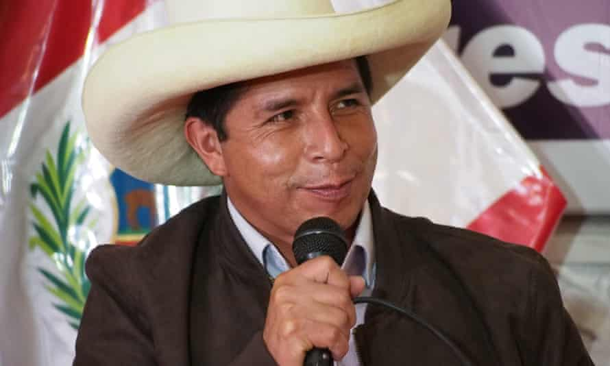 Pedro Castillo has claimed victory in the Peruvian election despite allegations of fraud from his rightwing rival Keiko Fijimori.