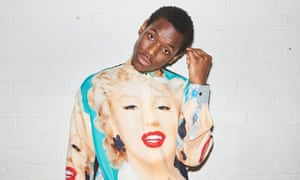 'The last two years have been the best two years of my life. I'm enjoying it, boy': Ward wears a Marilyn Monroe shirt by loewe.com.