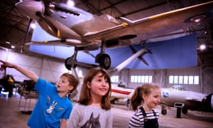 Spitfire in museum