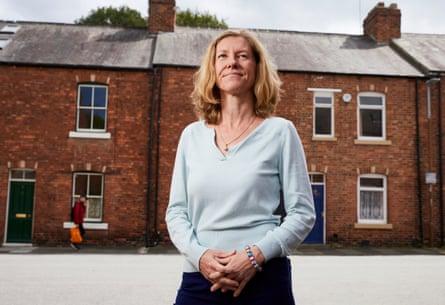 Katharine Gun in her home city, Durham