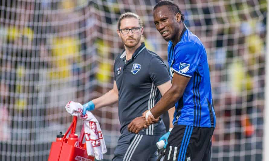 Didier Drogba missed this weekend's game through injury