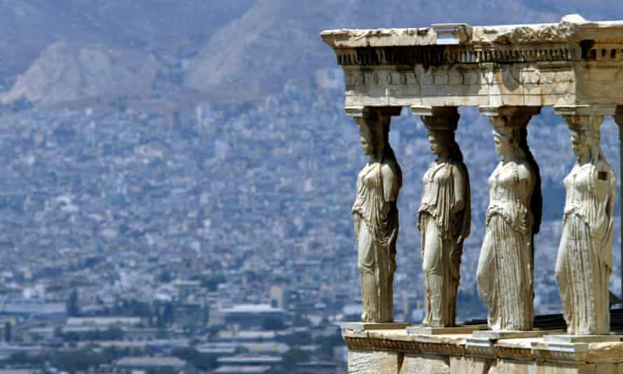 The backbone of our common culture … Athens viewed from the Acropolis hill.