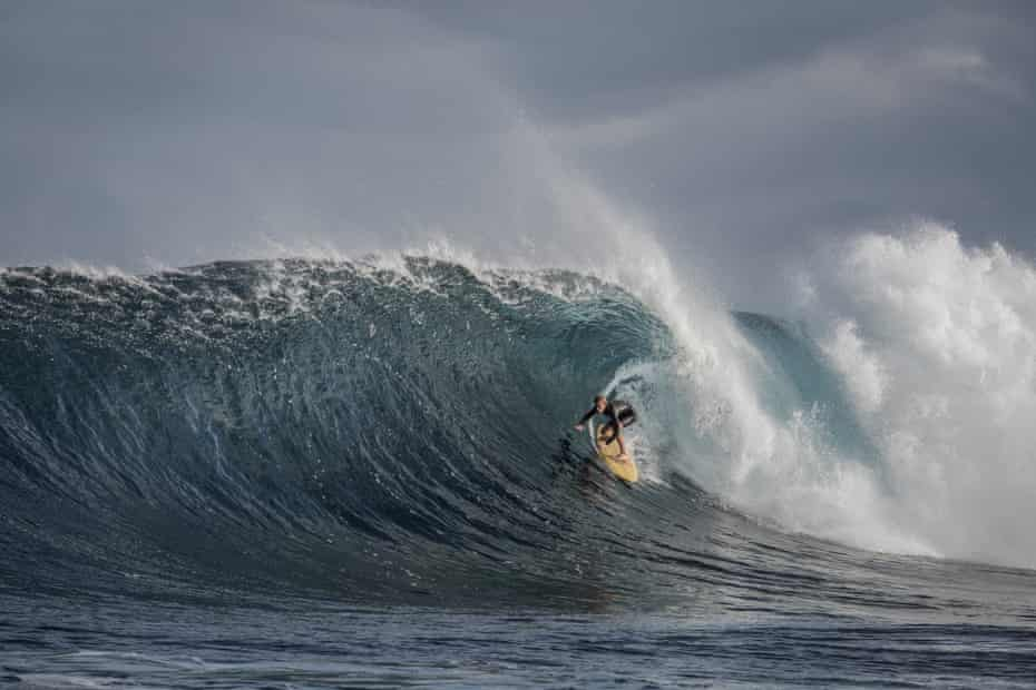 The film adaptation of Tim Winton's Breath, directed by Simon Baker