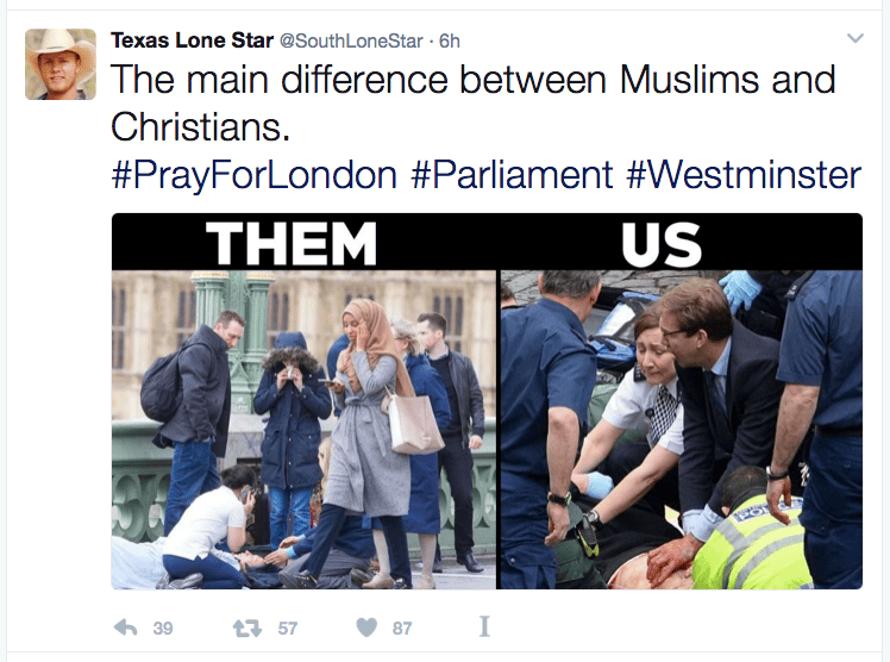 SouthLoneStar's infamous tweet.