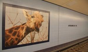 Afrikanische Strasse U-Bahn station for Berlin Cities