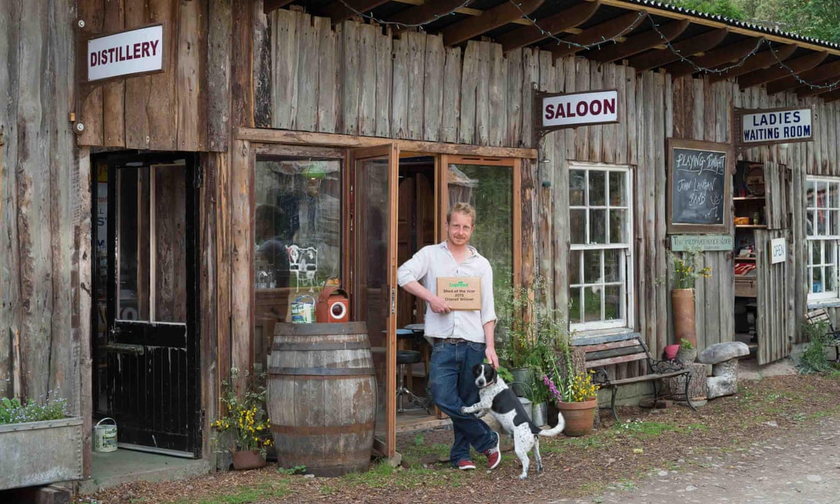 Shed of the year triumph for gin saloon marred by planning for Garden shed gin