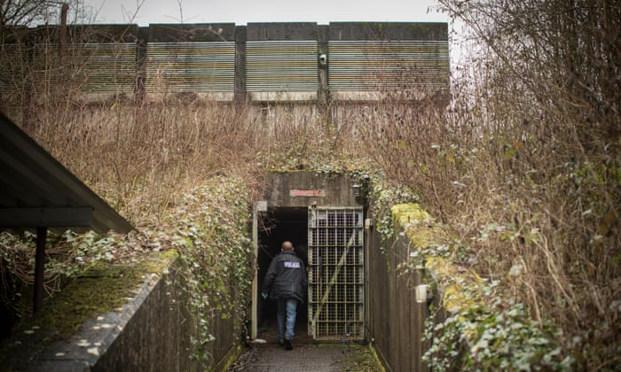 Three men jailed for running cannabis factory in ex-nuclear bunker