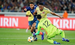 new concept b781e ae4d2 Everton frustrated by Yerry Mina returning from Colombia ...