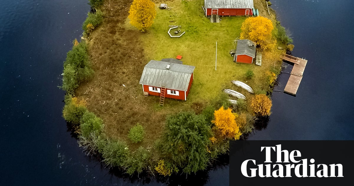 Lapland's changing seasons by drone – in pictures