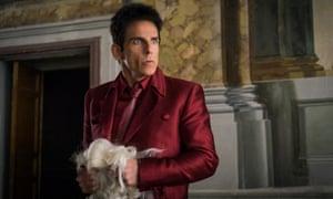 Model misbehaviour ... Ben Stiller in Zoolander 2.