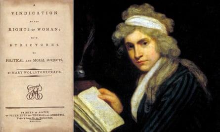 Mary Wollstonecraft painted by John Opie circa 1790