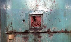 Inmates at a Venezuelan prison