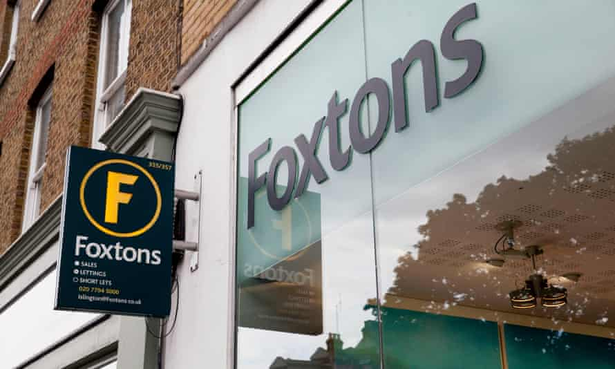 Foxtons estate agents in Angel Islington, north London