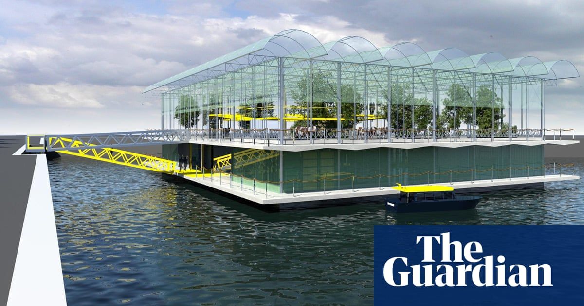 54349066bc Do cows get seasick  Welcome to Rotterdam s floating dairy farm ...