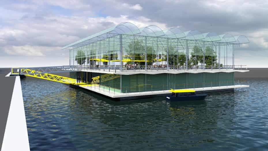 Floating farm proposed for Rotterdam's harbour