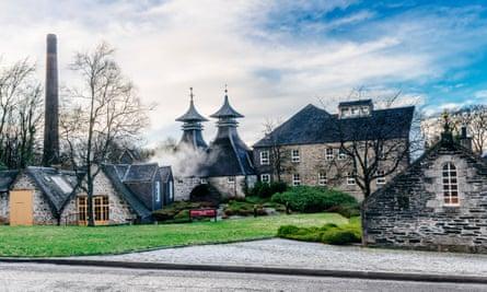 Strathisla distillery in Keith in the Moray District of Scotland.