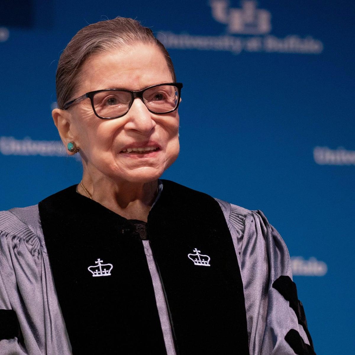 Ruth Bader Ginsburg Leaves Hospital And Doing Well At Home Ruth Bader Ginsburg The Guardian