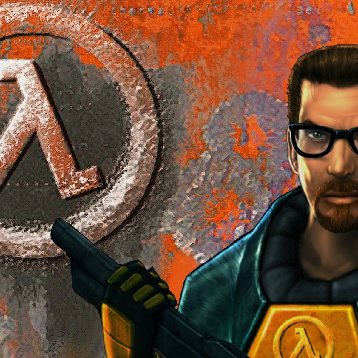 Roblox Gordon Freeman Hair Half Life At 20 Why It Is The Most Important Shooter Ever Made Games The Guardian
