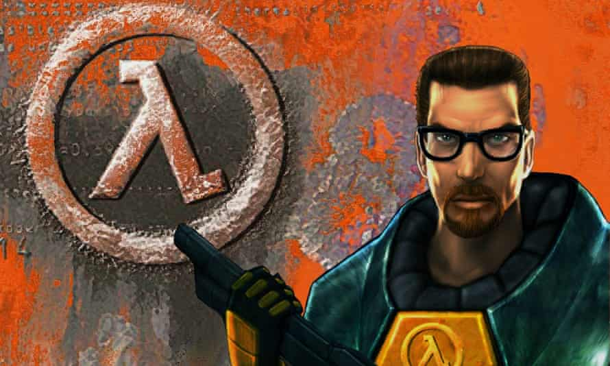 the Half-Life box art.