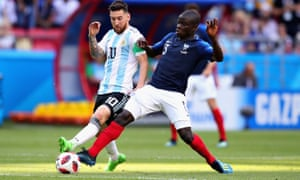 N'Golo Kanté impressed in the group stages against Lionel Messi.