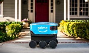 Amazon's Scout robot