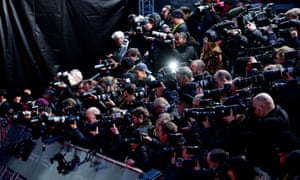 Photographers take aim at the 73rd British Academy Film awards at the Royal Albert Hall, London.