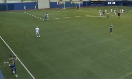 Still got it: Morten Gamst Pedersen scores two long-range free-kicks – video