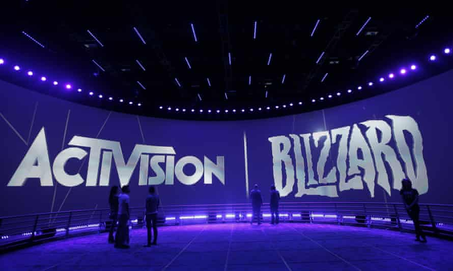 Activision Blizzard sign