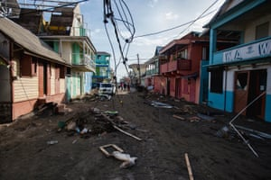 Island officials say 27 people have been killed and more than 50 are missing as a result of Hurricane Maria