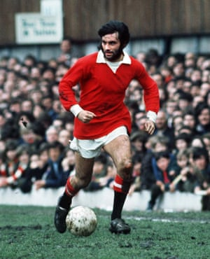George Best during match against Coventry City.