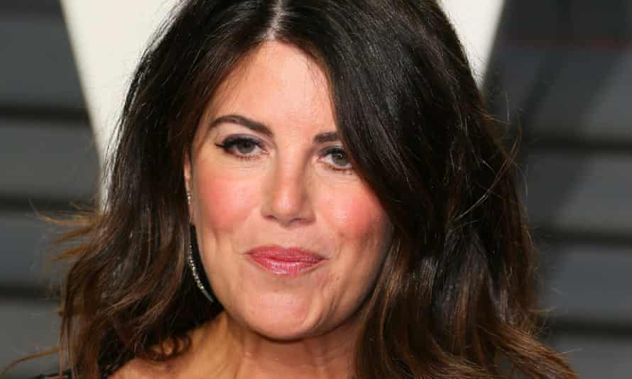 Monica Lewinsky arrives at last year's Vanity Fair Oscars party in Beverly Hills.