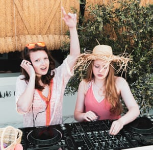 DJ lessons at Nobu Hotel, Ibiza.