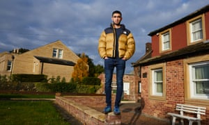 DEWSBURY, 16 October 2020 - Aadam Patel, who graduated from university during the coronavirus pandemic, at home in Dewsbury, West Yorkshire. Project Kid. Christopher Thomond for The Guardian.