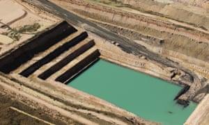 Gina Rinehart's Alpha coal project in Queensland's Galilee basin.