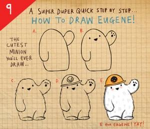 Evil penguin step 9
