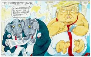 Donald Trump's impeachment.