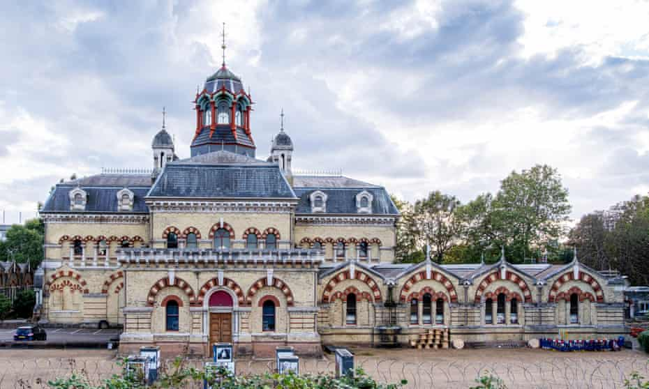 Abbey Mills Pumping Station.