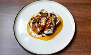 'I could do serious damage to a dish of this alone': vadouvan roast carrot.