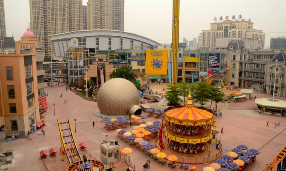 New South China Mall – the world's biggest shopping mall.