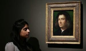 Giorgione's Portrait of a Man