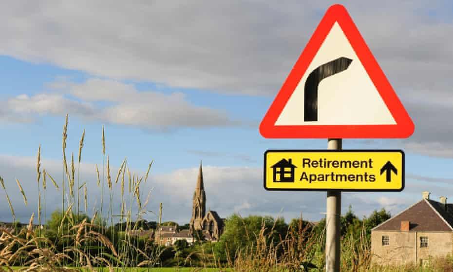 Sign to retirement properties