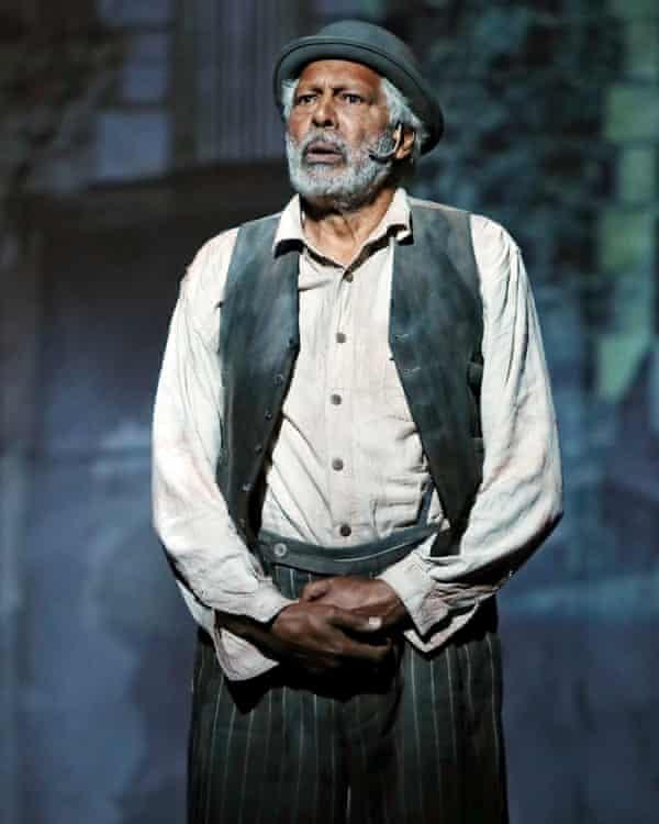 Ernie Dingo as Uncle Tadpole in the Opera Conference production of Bran Nue Dae