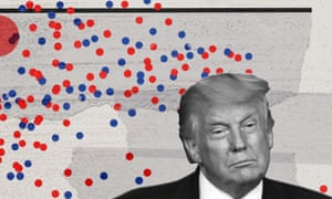 The data shows four years of Trump pushed away a significant swath of Republican and independent voters.