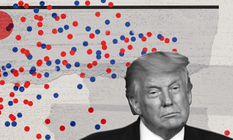 How Trump's presidency turned off some Republicans – a visual guide