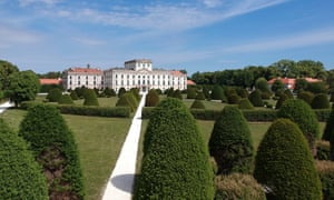 The Esterhazy Palace in Fertod, Hungary, completed in 1766 and home to Haydn.