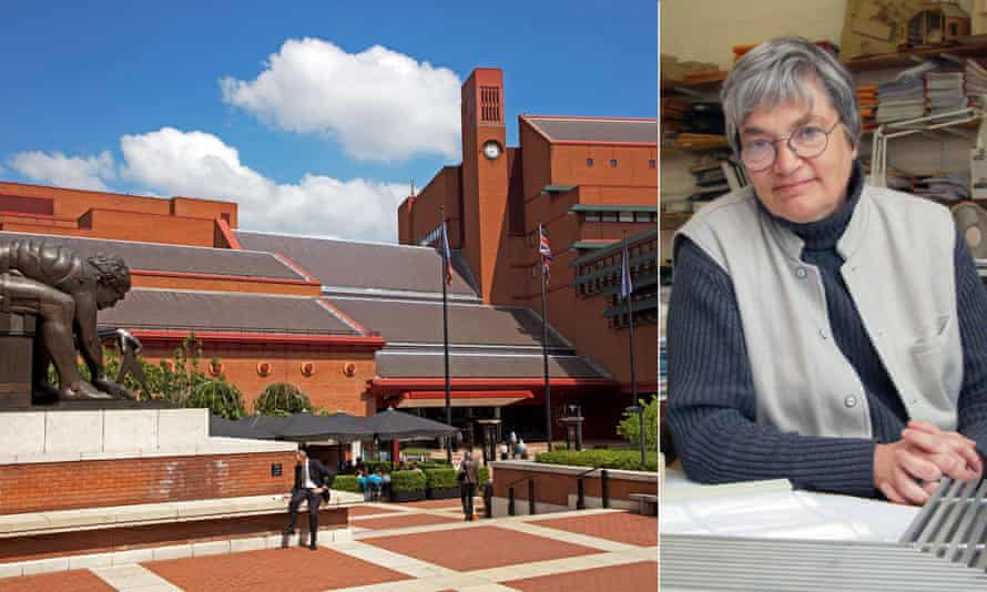 Co-creator … MJ Long, whose husband is often credited for the British Library.
