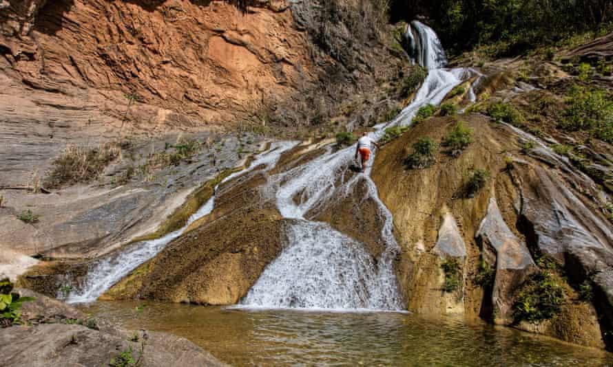 The Caburni waterfall in Topes de Collantes park.
